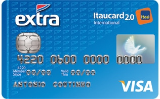 EXTRA Itaucard 2.0 International Visa