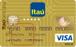 Itaú Uniclass Gold Visa