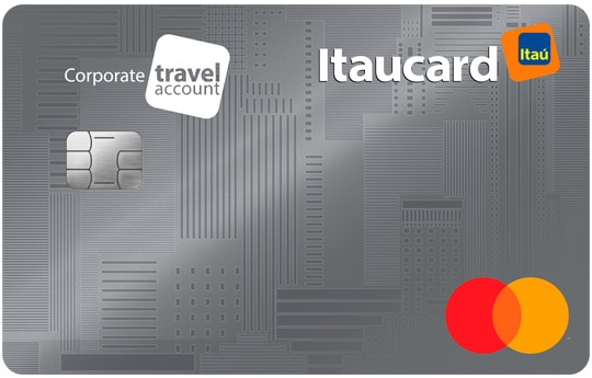cartão itaucard corporate travel account mastercard