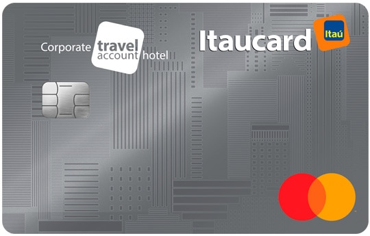 cartão itaucard corporate travel hotel mastercard