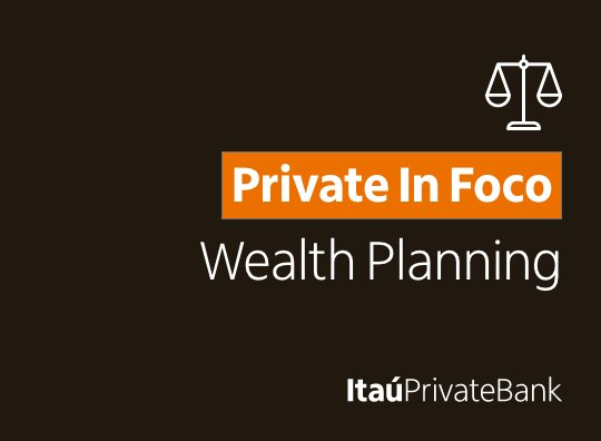 "Imagem com fundo preto escrito: ""Private In Foco - Wealth Planning"""